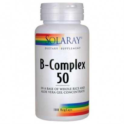 B- COMPLEX 50 CAPSULAS SOLARAY