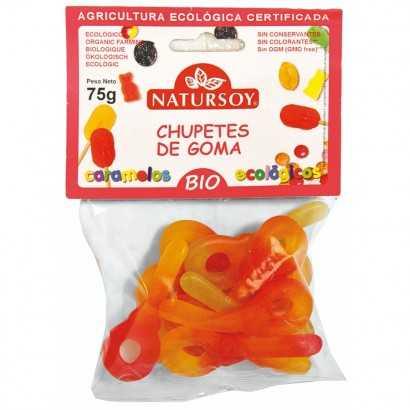 CHUPETES GOMA 75G NATURSOY