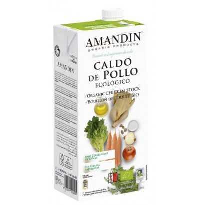 CALDO POLLO 1L AMANDIN