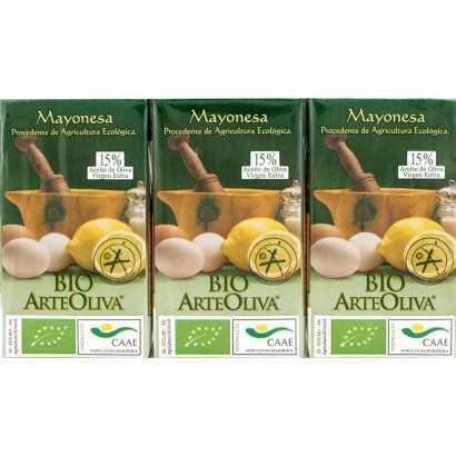 MAYONESA 3X125ML ARTEOLIVA