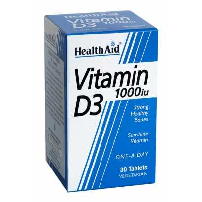 VITAMINA D3 1000U HEALTH AID