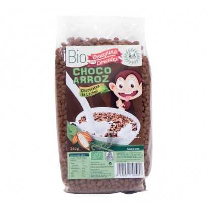 CHOCO ARROZ 250GR SOL NATURAL