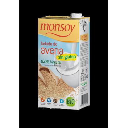 BEBIDA AVENA S/G 1L MONSOY