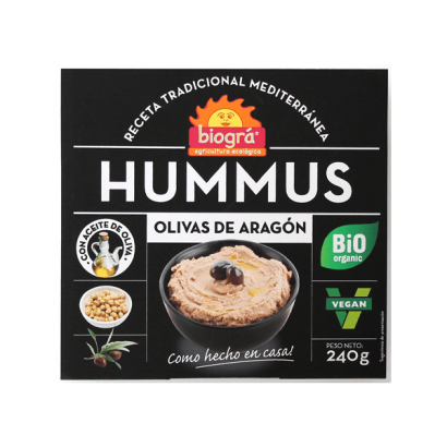 HUMMUS OLIVAS NEGRAS DE...