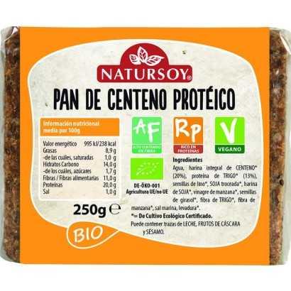PAN PROTEICO CENTENO 250 GR...
