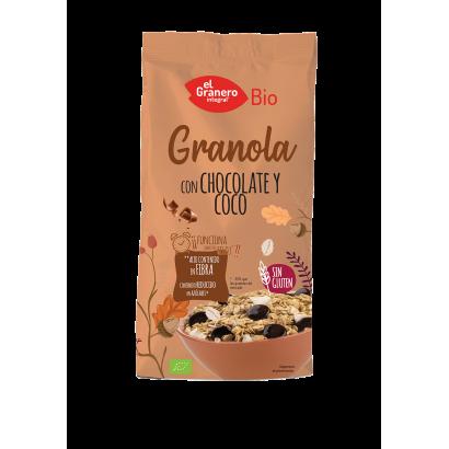 GRANOLA CHOCOLATE Y COCO...